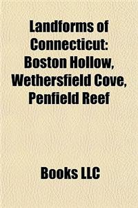 Landforms of Connecticut: Beaches of Connecticut, Estuaries of Connecticut, Islands of Connecticut, Lakes of Connecticut