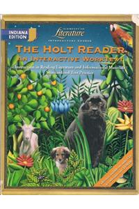 Holt Elements of Literature Indiana: Holt Reader: Int Wktxt/Pe Eolit 2003 Grade 6