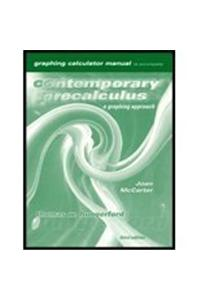 Graphing Calculator Manual for Hungerford's Contemporary Precalculus: A Graphing Approach , 3rd [With CDROM]