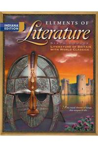 Holt Elements of Literature Indiana: Student Edition Eolit 2003 Grade 12 2003