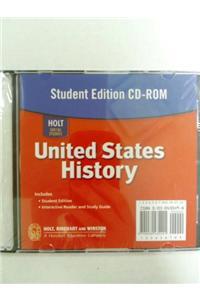 Holt United States History: Student Edition CD-ROM Grades 6-9 2007