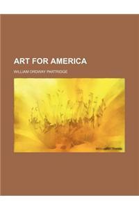 Art for America