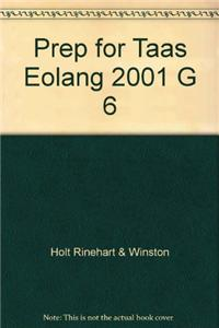 Prep for Taas Eolang 2001 G 6