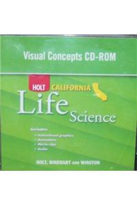 Holt Science & Technology California: Visual Concepts CD-ROM Grade 6 Life Science