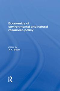 The Economics of Environmental and Natural Resources Policy