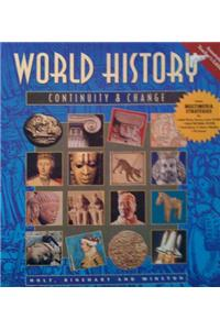 Ate World Hist: Cont and Change Rev Ed 99