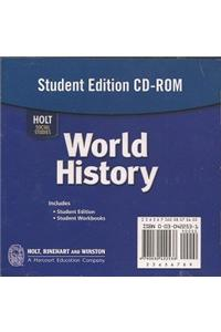 Holt World History: Student's Edition CD-ROM Grades 6-8 2006