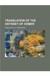 Translation of the Odyssey of Homer