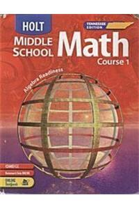 Holt Mathematics Tennessee: Student Edition Course 1 2005