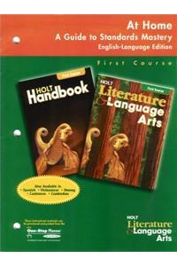 Holt Literature and Language Arts California: At Home: Guide Grade 7