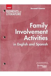 Elements of Literature: Interactive Activities English/Spanish Second Course