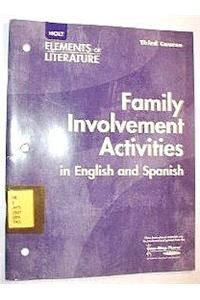 Elements of Literature: Interactive Activities English/Spanish Third Course