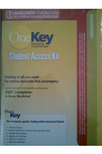 Coursecompass, Student Access Kit, EMT Complete: A Basic Worktext