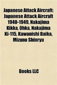 Japanese Attack Aircraft