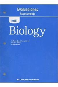 Holt Biology: Assessments, Spanish