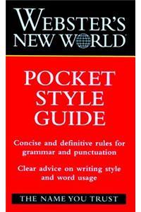 Webster's New World Pocket Style Guide