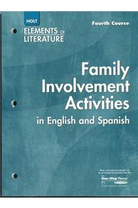 Elements of Literature: Interactive Activities English/Spanish Fourth Course