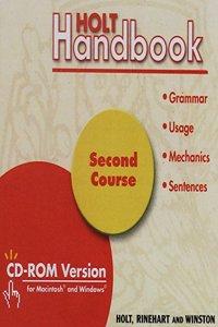 Holt Handbook: CD-ROM Verison Grade 8 2003