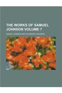 The Works of Samuel Johnson Volume 7