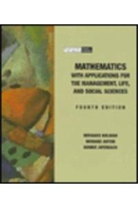 Math with Application for the Management: Life and Social Sciences