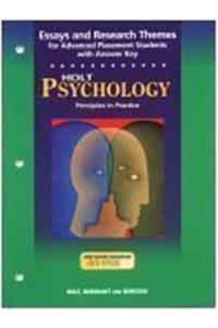 Essays & Research Themes Psych 2003