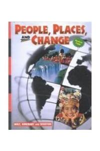 Holt People, Places, and Change: An Introduction to World Studies: Student Edition Grades 6-8 2001