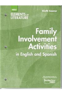 Elements of Literature: Interactive Activities English/Spanish Sixth Course
