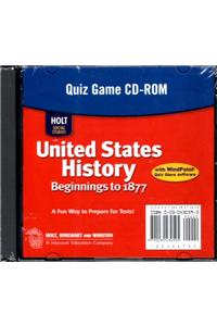 Holt United States History: Quiz Game Grades 6-9 Beginnings to 1877