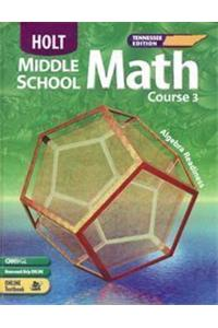 Holt Mathematics: Student Edition Course 3 2005