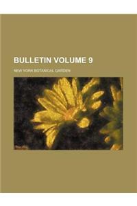 Bulletin Volume 9