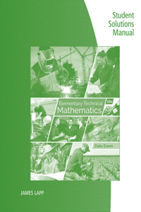Student Solutions Manual for Ewen's Elementary Technical Mathematics, 12th