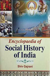 Encyclopaedia of Social History of India (Set of 3 Vols.), 1161pp., 2013