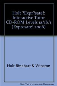 ?Expr?sate!: Interactive Tutor CD-ROM Levels 1a/1b/1