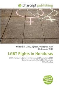 Lgbt Rights in Honduras