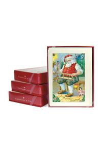 Santa Claus with Sled Notecards