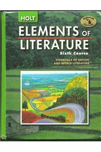 Holt Elements of Literature Michigan: Student Edition Grade 11 2005