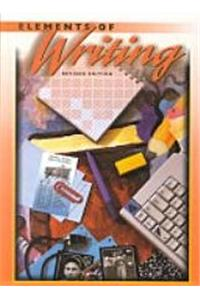 Holt Elements of Writing: Student Edition Grade 8 1998