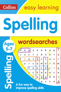 Spelling Word Searches: Ages 5-7
