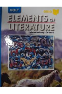 Holt Elements of Literature Ohio: Student Edition Grade 6 2005