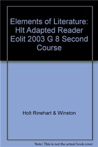 Elements of Literature: Adapted Reader Second Course