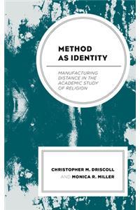 Method as Identity