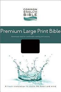 Premium Large Print Bible-CEB