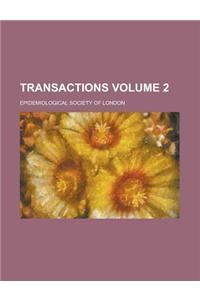 Transactions Volume 2