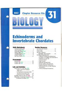Cr 31 Echinoderms/Invrt Biology 2004