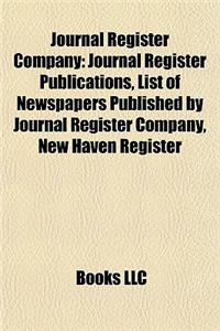 Journal Register Company: Journal Register Publications, List of Newspapers Published by Journal Register Company, New Haven Register