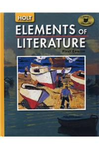 Holt Elements of Literature Ohio: Student Edition Grade 7 2005