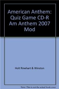American Anthem: Quiz Game CD
