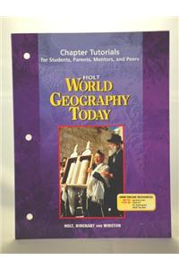 World Geography Today: Tutorials