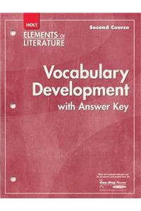 Elements of Literature: Vocubulary Development Second Course