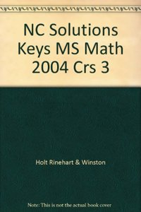 NC Solutions Keys MS Math 2004 Crs 3